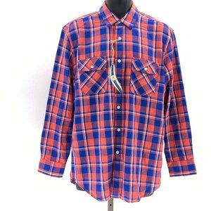 Surf Pendleton flannel shirt mens button front M